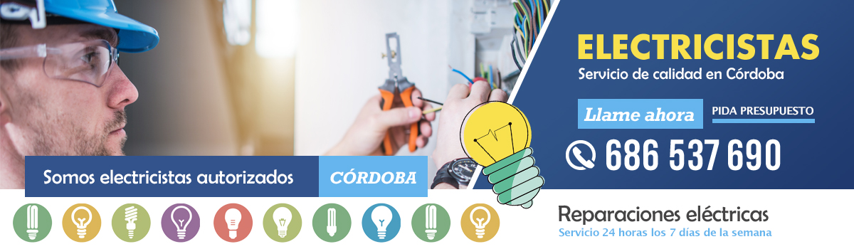 Electricistas autorizados en Córdoba