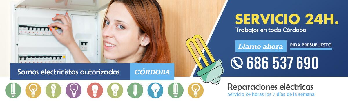 Servicio 24 horas para atender urgencias eléctricas en Córdoba